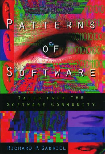 Large book cover: Patterns of Software: Tales from the Software Community