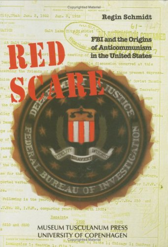 Large book cover: Red Scare: FBI and the Origins of Anticommunism in the United States