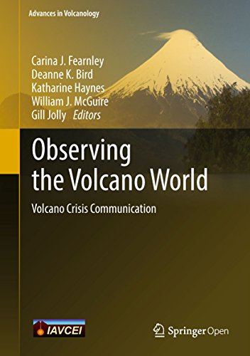 Large book cover: Observing the Volcano World