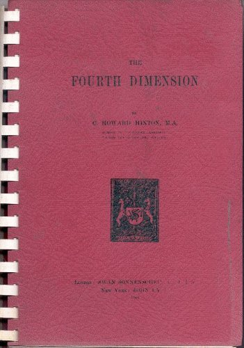 Large book cover: The Fourth Dimension