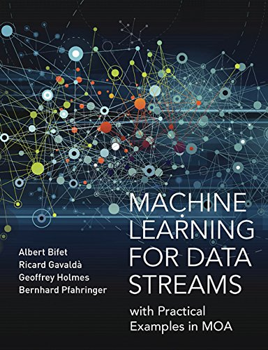 Large book cover: Machine Learning for Data Streams