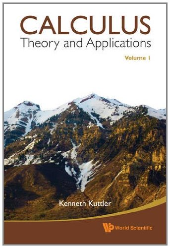 Large book cover: Calculus, Applications and Theory