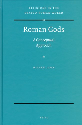 Large book cover: Roman Gods: A Conceptual Approach