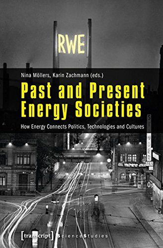 Large book cover: Past and Present Energy Societies