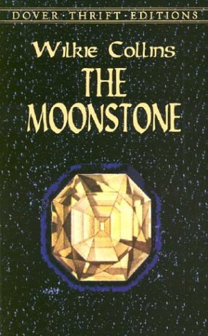 Large book cover: The Moonstone