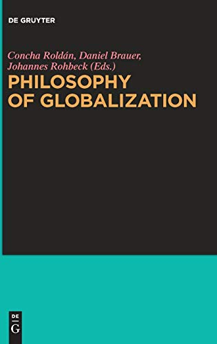 Large book cover: Philosophy of Globalization