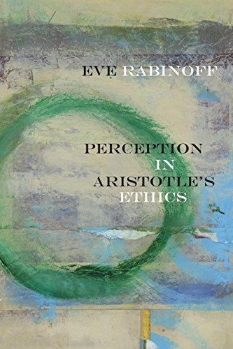 Large book cover: Perception in Aristotle's Ethics