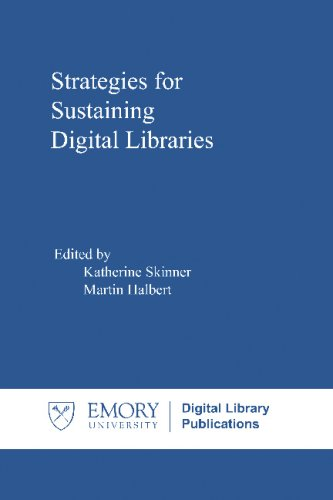 Large book cover: Strategies for Sustaining Digital Libraries