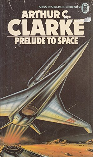 Large book cover: Prelude to Space