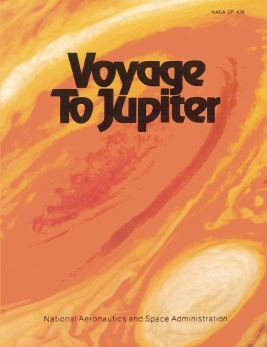 Large book cover: Voyage to Jupiter