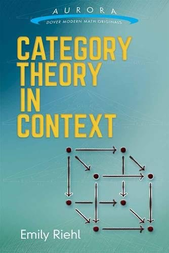 Large book cover: Category Theory in Context