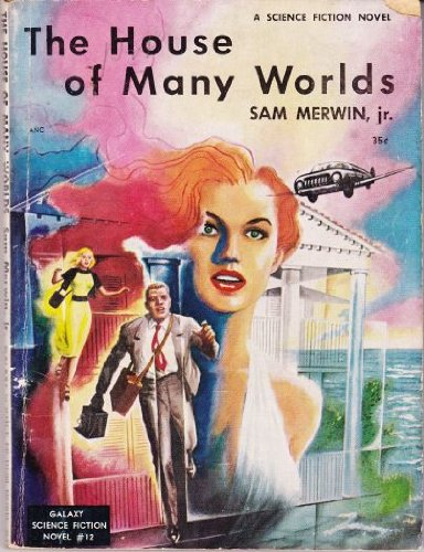 Large book cover: The House Of Many Worlds