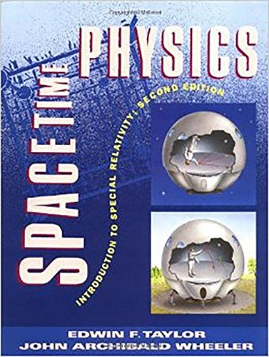 Large book cover: Spacetime Physics