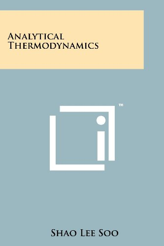 Large book cover: Analytical Thermodynamics