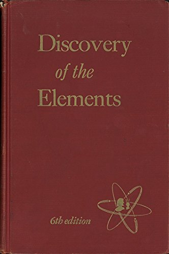 Large book cover: Discovery of the Elements