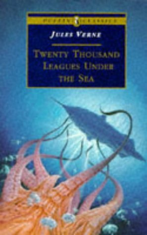 Large book cover: Twenty Thousand Leagues under the Sea
