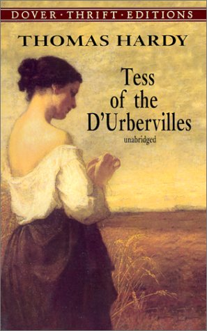 Large book cover: Tess of the d'Urbervilles