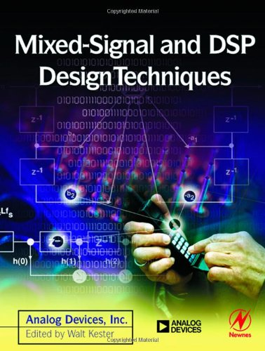 Large book cover: Mixed-signal and DSP Design Techniques