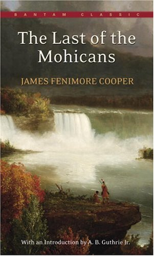 Large book cover: The Last of the Mohicans