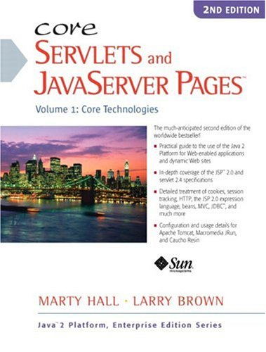 Large book cover: Core Servlets and Javaserver Pages