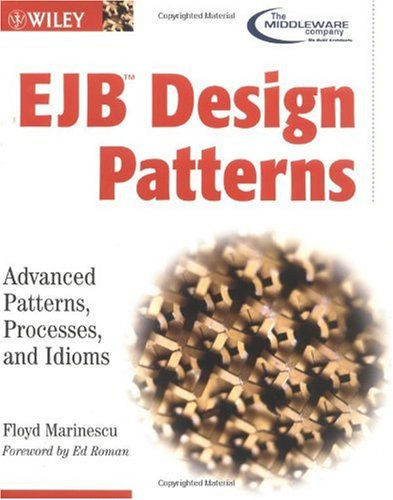Large book cover: EJB Design Patterns: Advanced Patterns, Processes, and Idioms