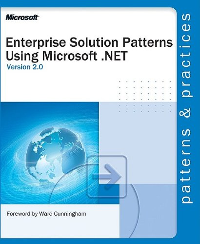 Large book cover: Enterprise Solution Patterns Using Microsoft .Net