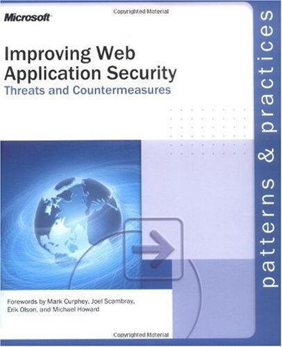 Large book cover: Improving Web Application Security: Threats and Countermeasures