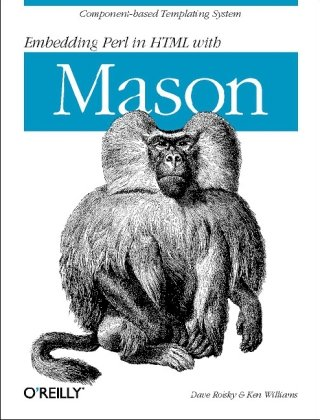 Large book cover: Embedding Perl in HTML With Mason