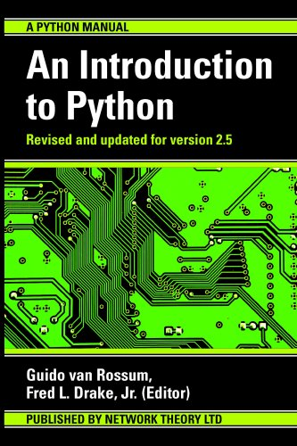 Large book cover: An Introduction to Python