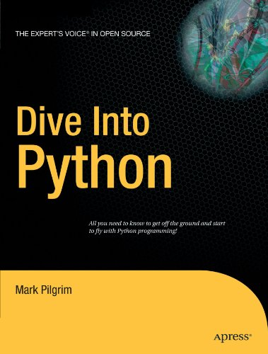 Large book cover: Dive Into Python