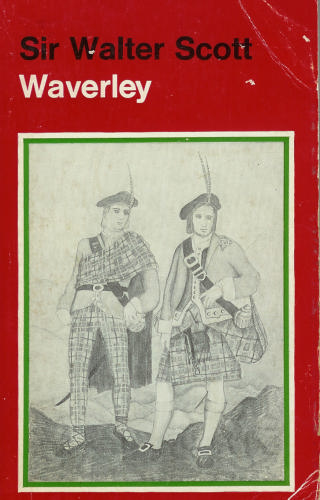 Large book cover: Waverley