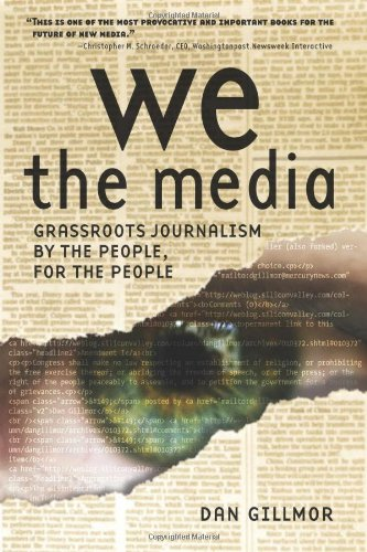 Large book cover: We the Media