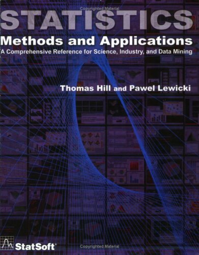 Large book cover: Statistics: Methods and Applications