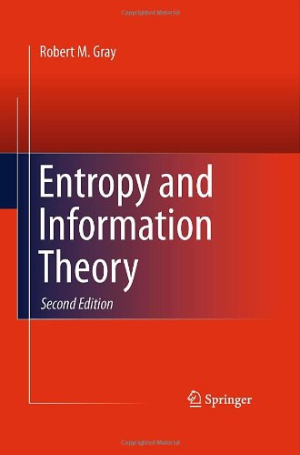 Large book cover: Entropy and Information Theory
