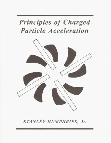Large book cover: Principles of Charged Particle Acceleration