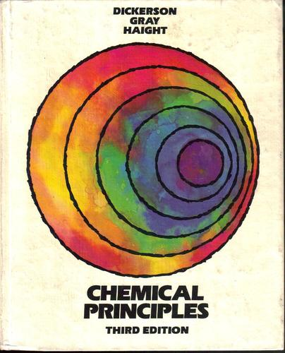 Large book cover: Chemical Principles