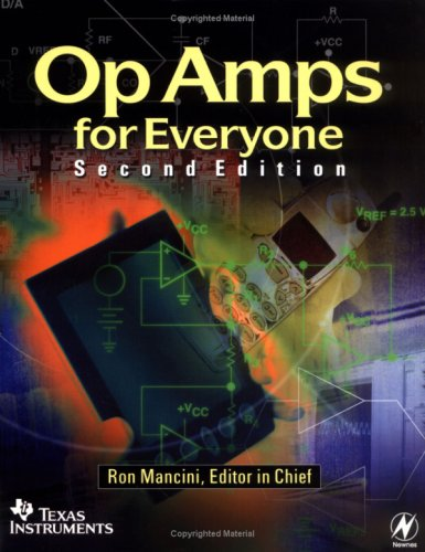 Large book cover: Op Amps for Everyone