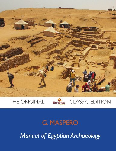 Large book cover: Manual of Egyptian Archaeology