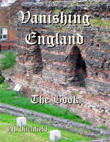 Large book cover: Vanishing England