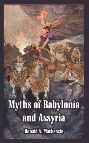 Large book cover: Myths of Babylonia and Assyria
