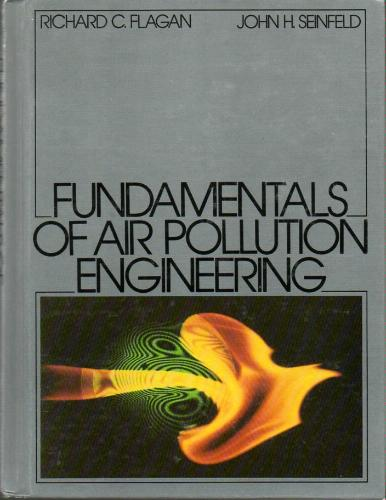 Large book cover: Fundamentals of Air Pollution Engineering