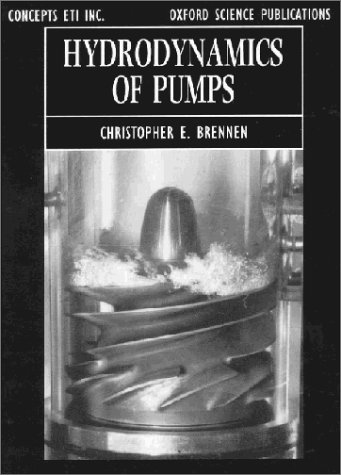 Large book cover: Hydrodynamics of Pumps