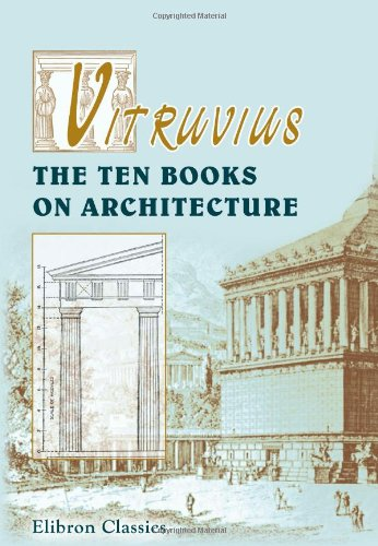 Large book cover: Vitruvius: The Ten Books on Architecture