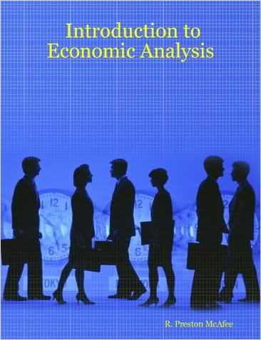 Large book cover: Introduction to Economic Analysis