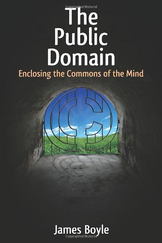 Large book cover: The Public Domain: Enclosing the Commons of the Mind