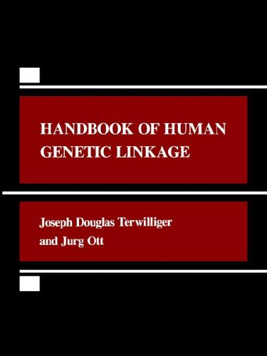 Large book cover: Handbook of Human Genetic Linkage