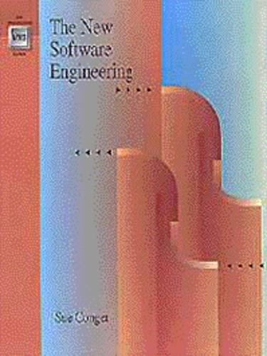 Large book cover: The New Software Engineering
