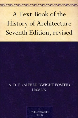 Large book cover: A Text-book of the History of Architecture