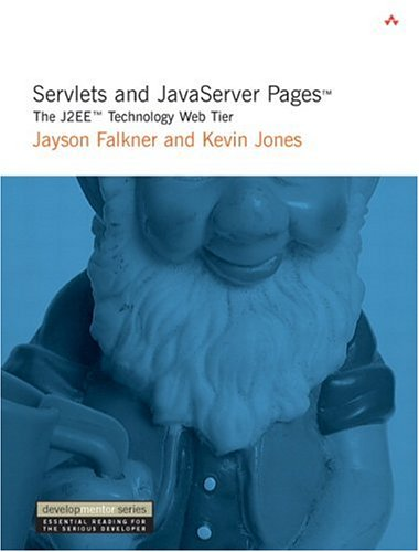 Large book cover: Servlets and JavaServer Pages: The J2EE Technology Web Tier