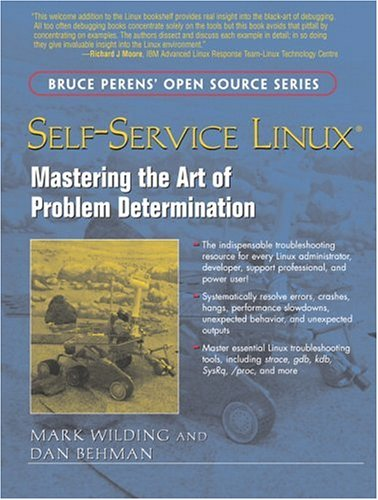 Large book cover: Self-Service Linux: Mastering the Art of Problem Determination
